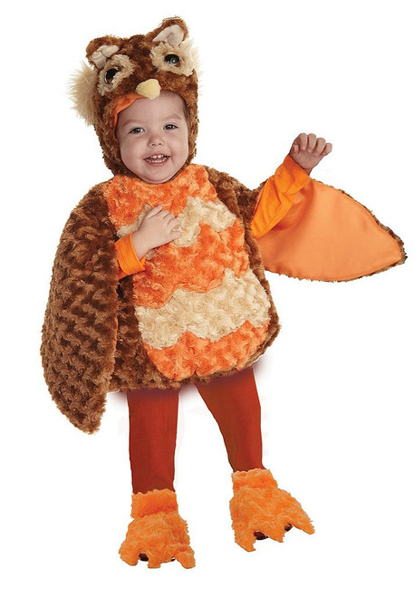 Owl Plush Toddler Costume