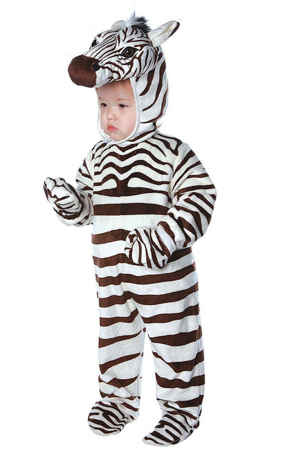Zebra Jumpsuit Costume