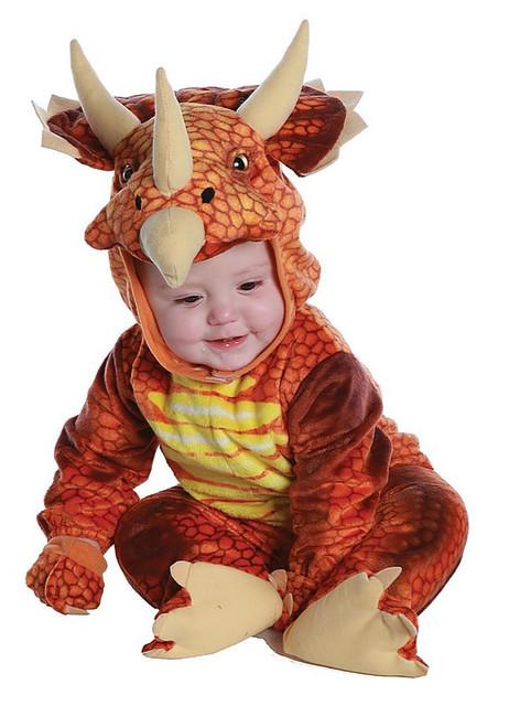 Triceratops Rust Dinosaur Costume