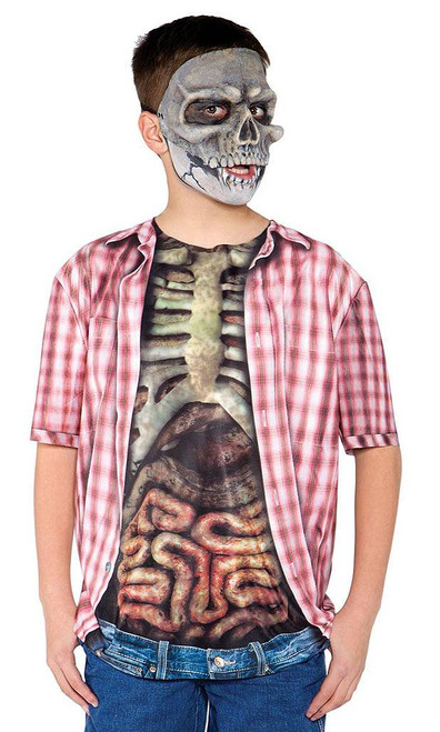 Skeleton Zombie & Guts Shirt
