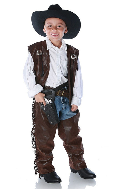 Cowboy Chaps Boy Costume