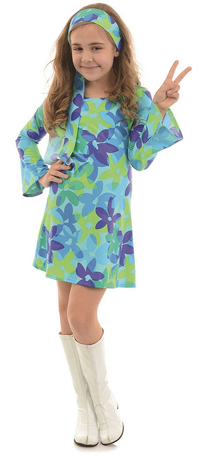 Harmony Hippie Child Costume