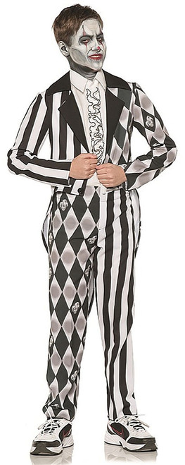 Tuxedo Harlequin Costume Child