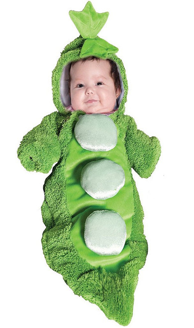 Peas in Pod Bunting Infant Costume