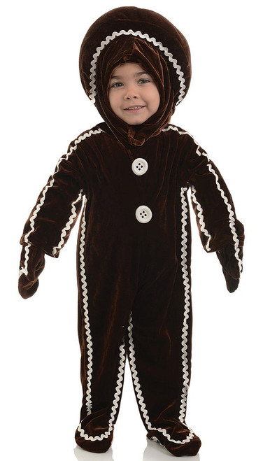 Gingerbread Jumpsuit Costume