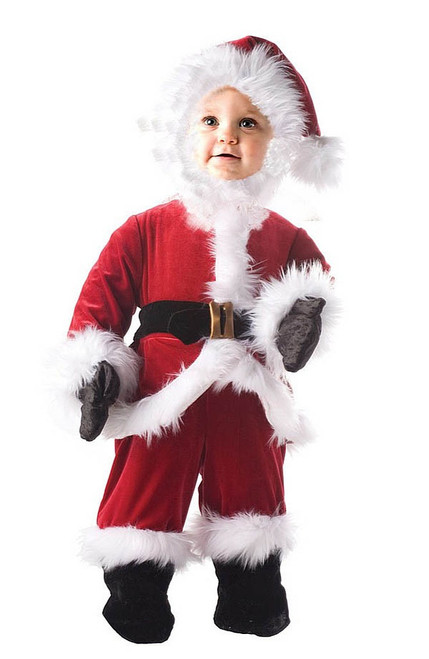 Child Santa Jumpsuit