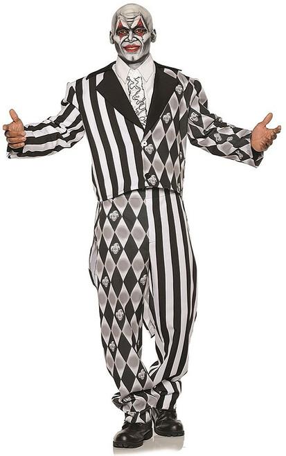 Harlequin Tuxedo Costume Teen