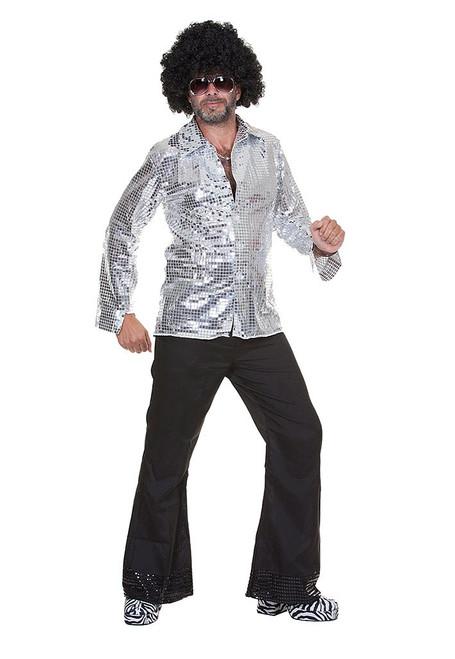 Men's Disco Ball Shirt
