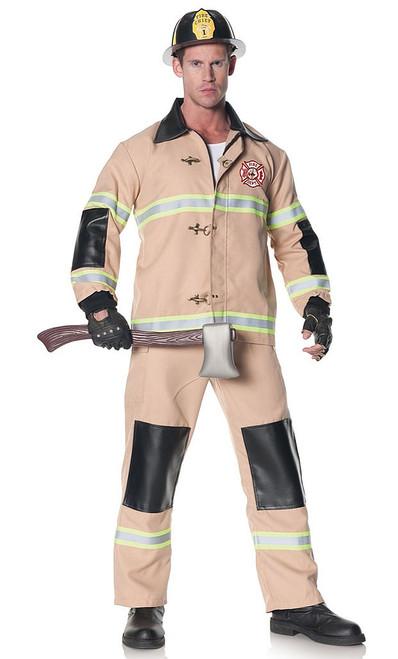 Firefighter Tan Costume