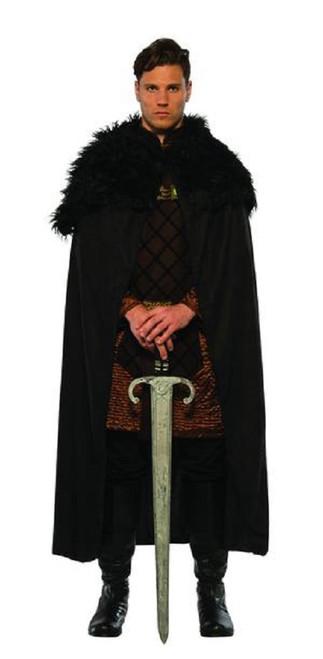 Renaissance cape with fur