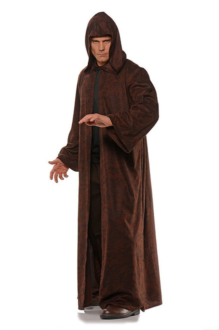 tar Wars Brown Cloak Jedi Costume