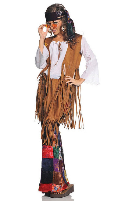 60's Hippie Peace Out Costume