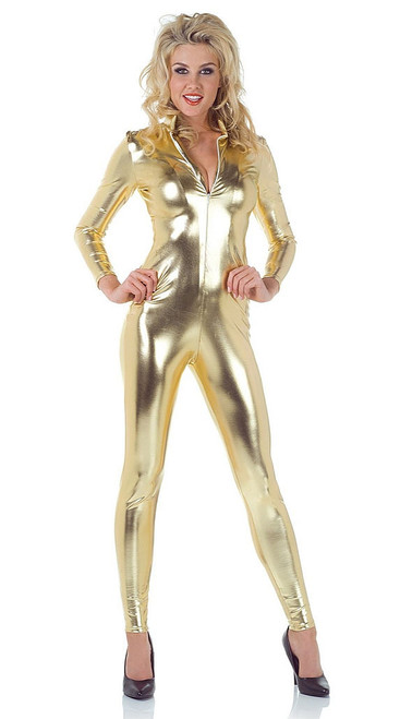 Golden Catsuit/Jumpsuit