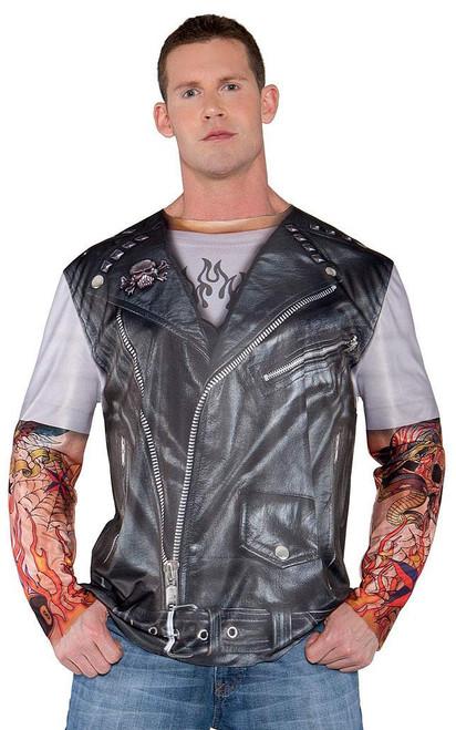 Real Biker Jacket Shirt