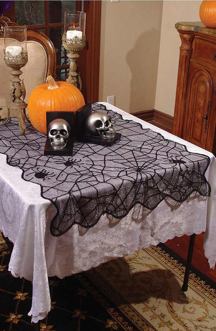 Small Spider Lace Table Cloth