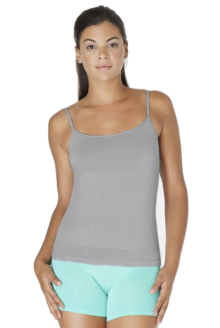 Sylvie Seamless Shaping Cami Grey Sleet Front