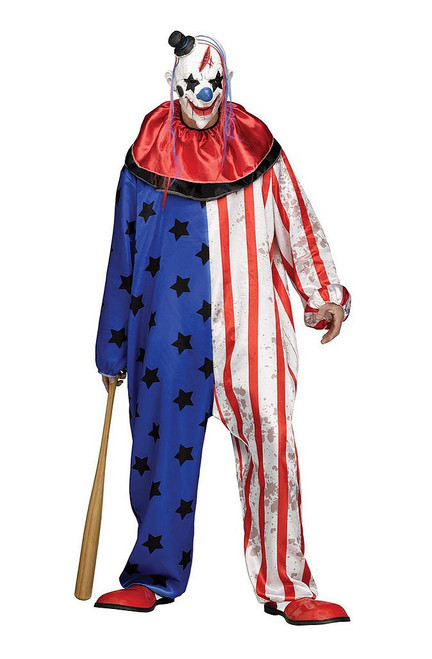 Evil Clown Costume for Adults