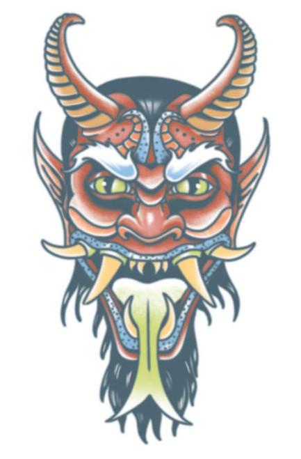 Demon  Transfer Tattoo