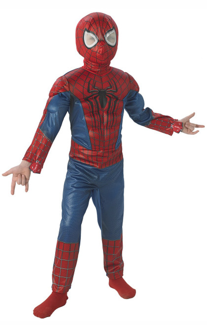 Amazing Spiderman Costume Boy