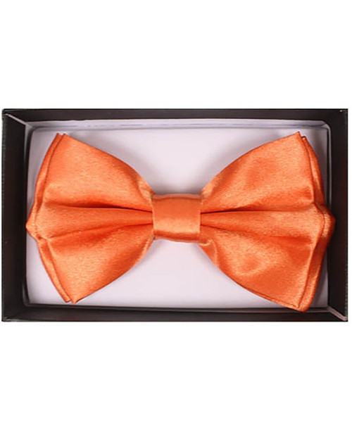 Orange Adult Bow Tie