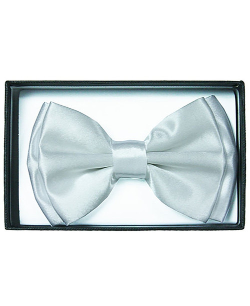 White Adult Bow Tie