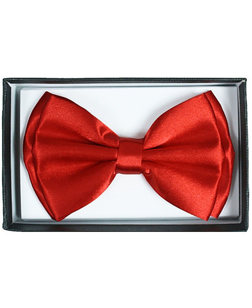 Red Adult Bow Tie
