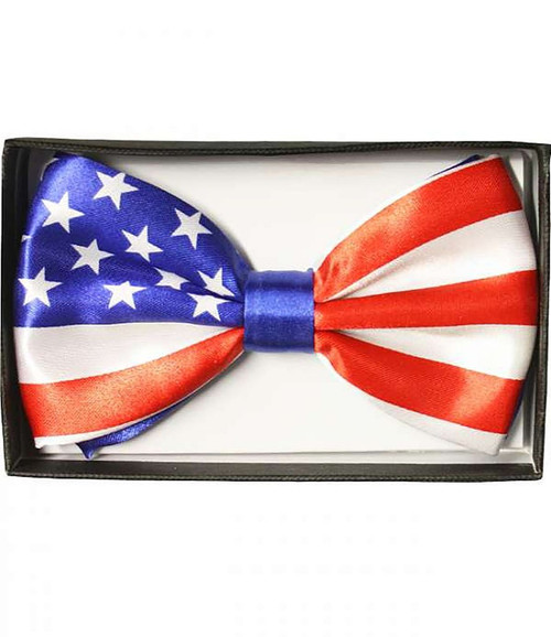 American Flag Adult Bow Tie