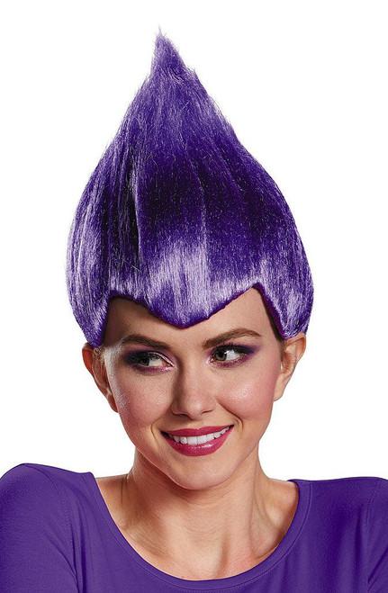 Trolls Purple Wacky Wig
