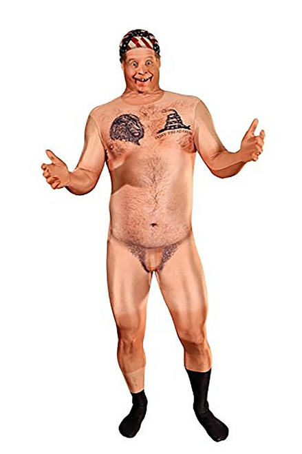Censored Naked Hill Billy Faux Real Morphsuit