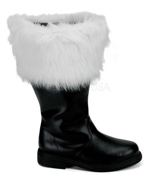 Wide Calf Santa Boots