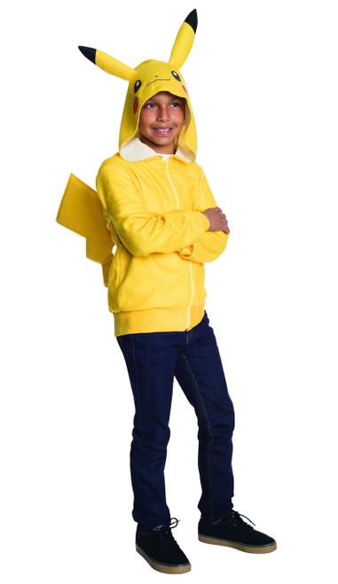Pikachu Tween Hoodie With Tail
