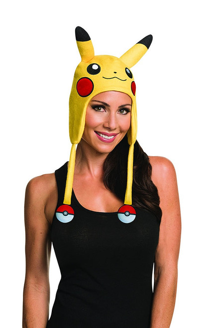 Pikachu Hat with Pokeballs