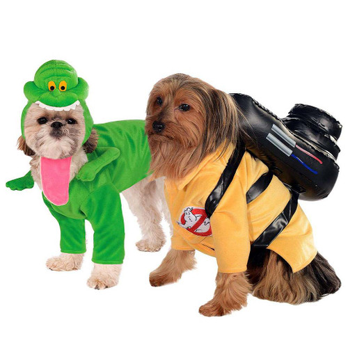 Ghostbuster Slimer Dog Costume