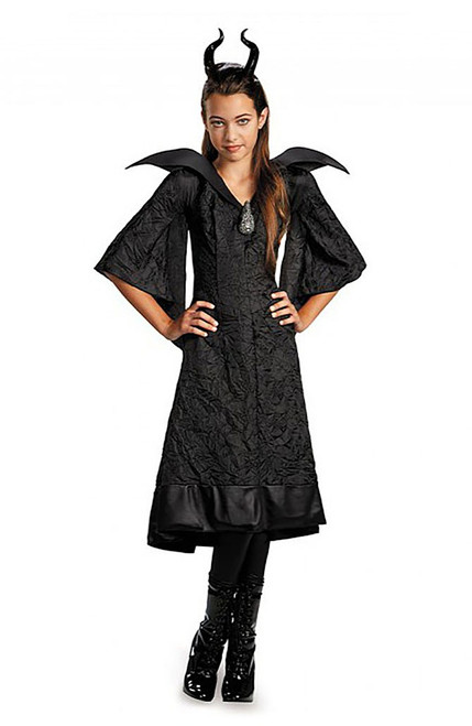 Children's Maleficent Black Gown
