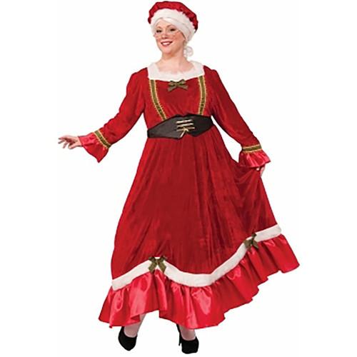 Classic Mrs Claus Plus Size