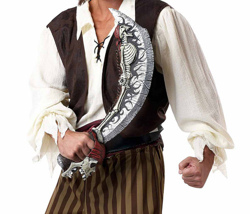 Skeleton Cutlass Pirate Knife
