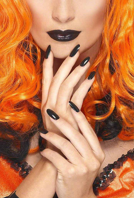 Nail Polish and Lipstick - Black