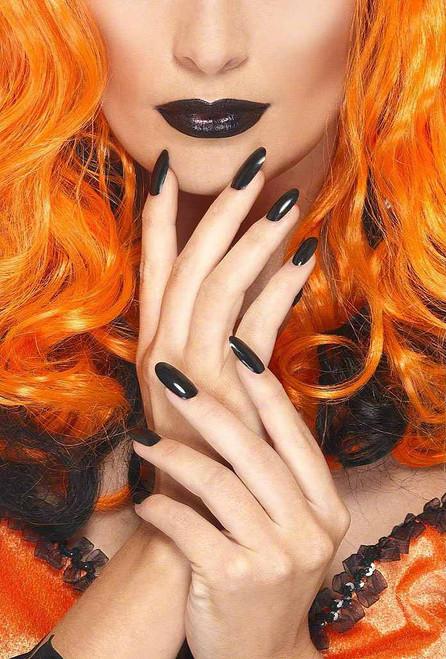 Nail Polish and Lipstick - Black
