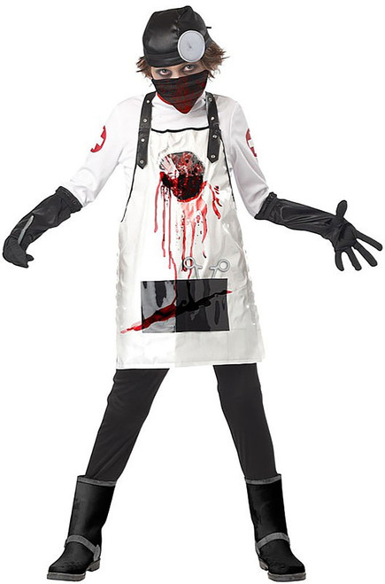 Open Heart Surgeon Boy Costume