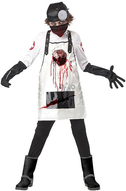 Open Heart Surgeon Boy Costume