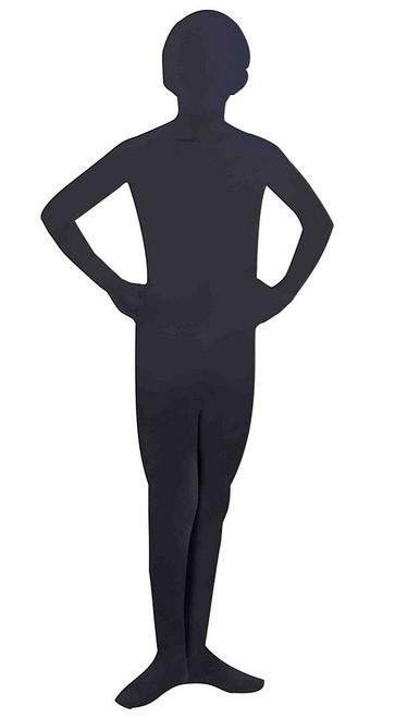 I'm Invisible Black Skin suit Child Costume