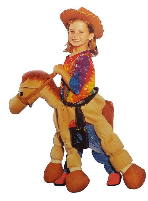 Ride-A-Pony Tan Costume