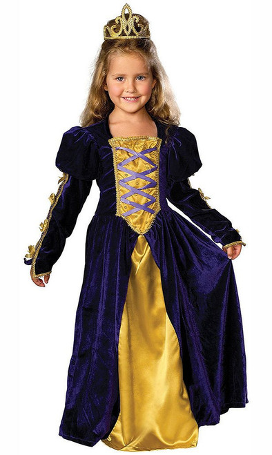 Regal Queen Medieval Princess Costume