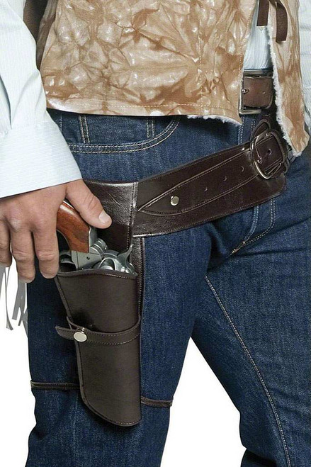 Western Wandering Gunman Belt and Holster