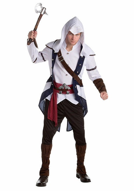 Mens Assassins Creed Connor Classic Costume