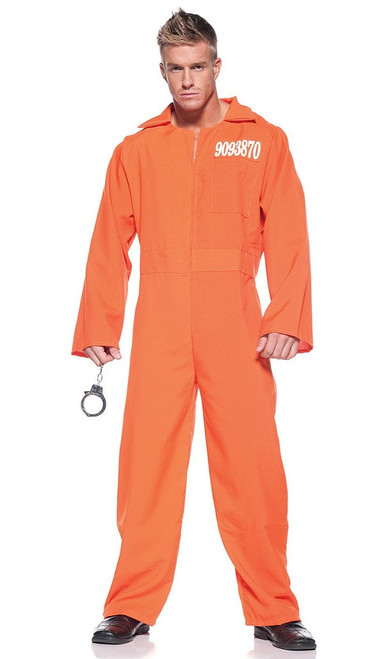 Prisoner Jumpsuit Costume