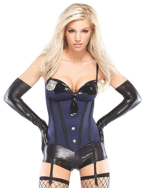 Female Cop Bustier