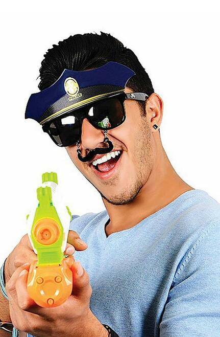 Police Glasses with Stach