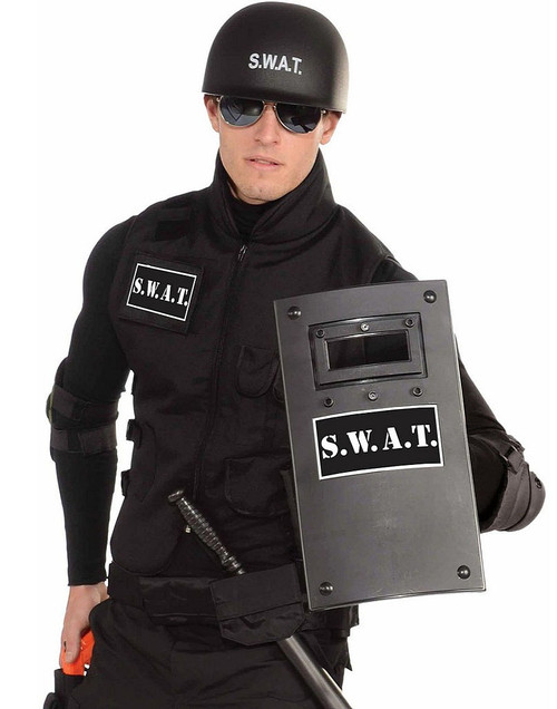 Small Black SWAT Shield