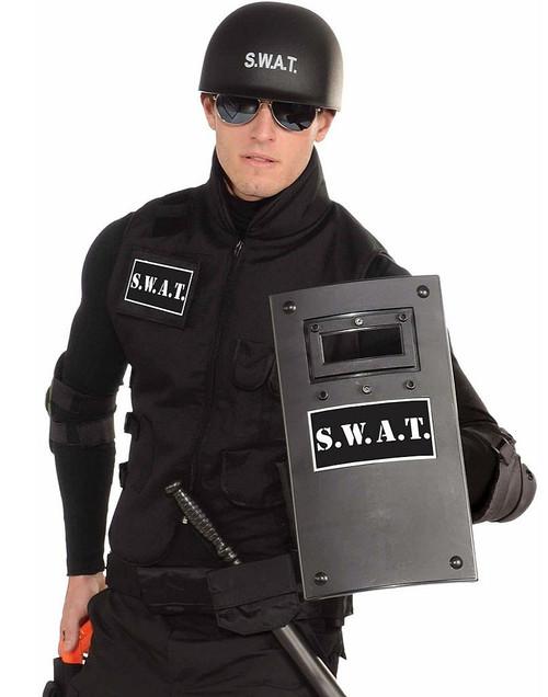 Small Black SWAT Shield